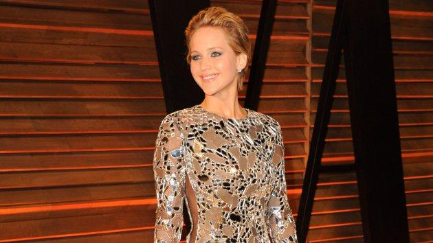 Jennifer Lawrence on March 2, 2014 in Los Angeles -- Getty Images