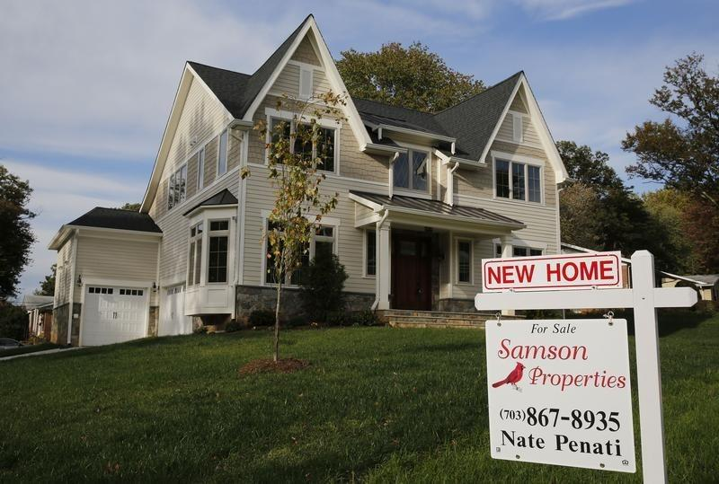 U.S. new home sales rebound strongly in October