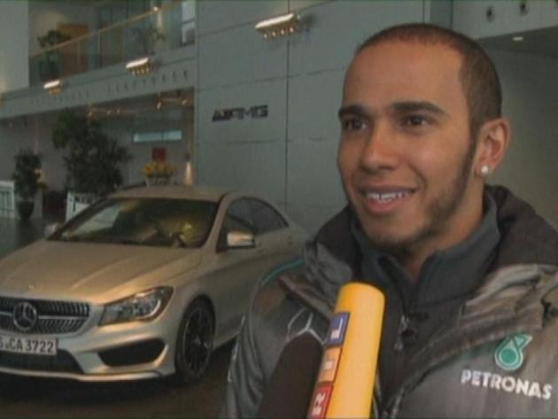 Hamilton fired up for 'massive' Mercedes challenge