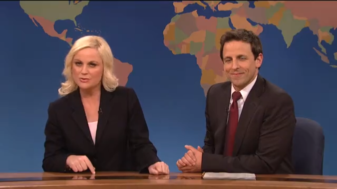 Seth Meyers Will Kick Off 'Late Night' With Amy Poehler and Joe Biden