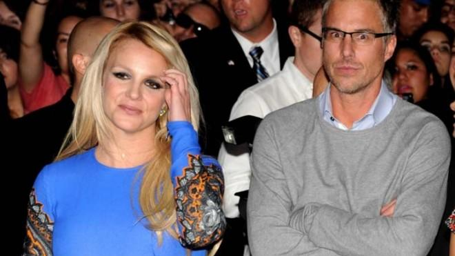 Britney Spears and (former) fiance Jason Trawick in September: Yeah, we saw this split coming, too.