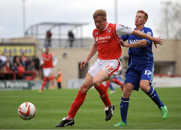 Soccer - Sky Bet League Two - Morecambe v Chesterfield - Globe Arena