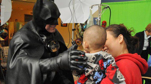 Batman at Children's Hospital