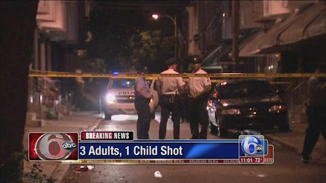 Child killed ID'd, 3 wounded in Grays Ferry shooting