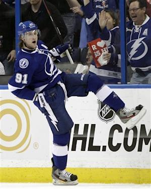 Stamkos has 3 points in Tampa Bay win over Anaheim