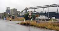 Rio Tinto's Newdell colliery near Muswellbrook in Australia's Hunter Valley. The global mining giant has announced a $3 bn writedown relating to its Mozambique coal project acquired in 2011