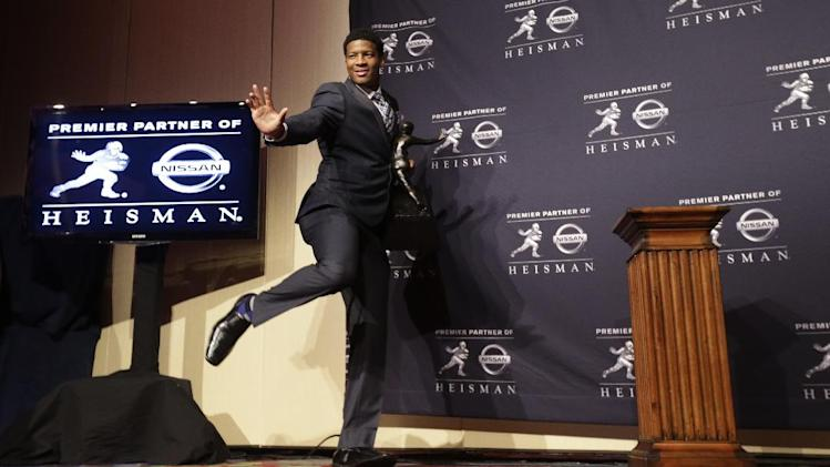 More famous Jameis: Winston wins Heisman Trophy