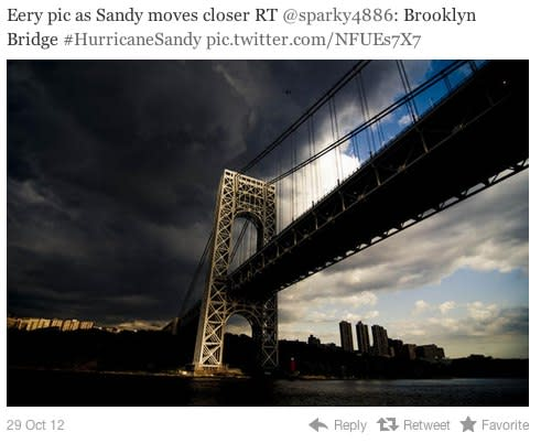 5 Fake Hurricane Sandy Photos You're Sharing on Social Media
