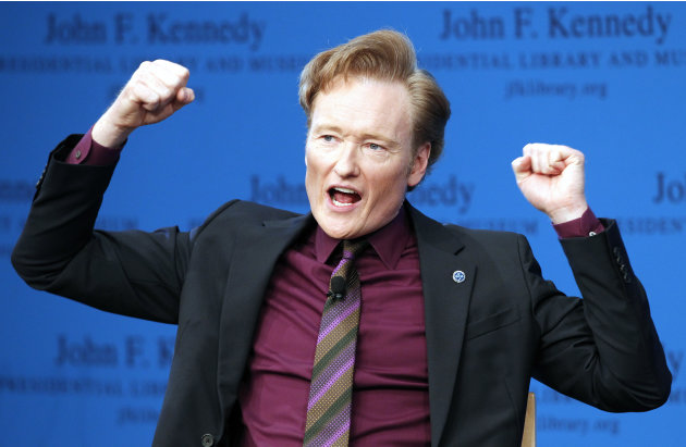 Conan O'Brien discusses his …