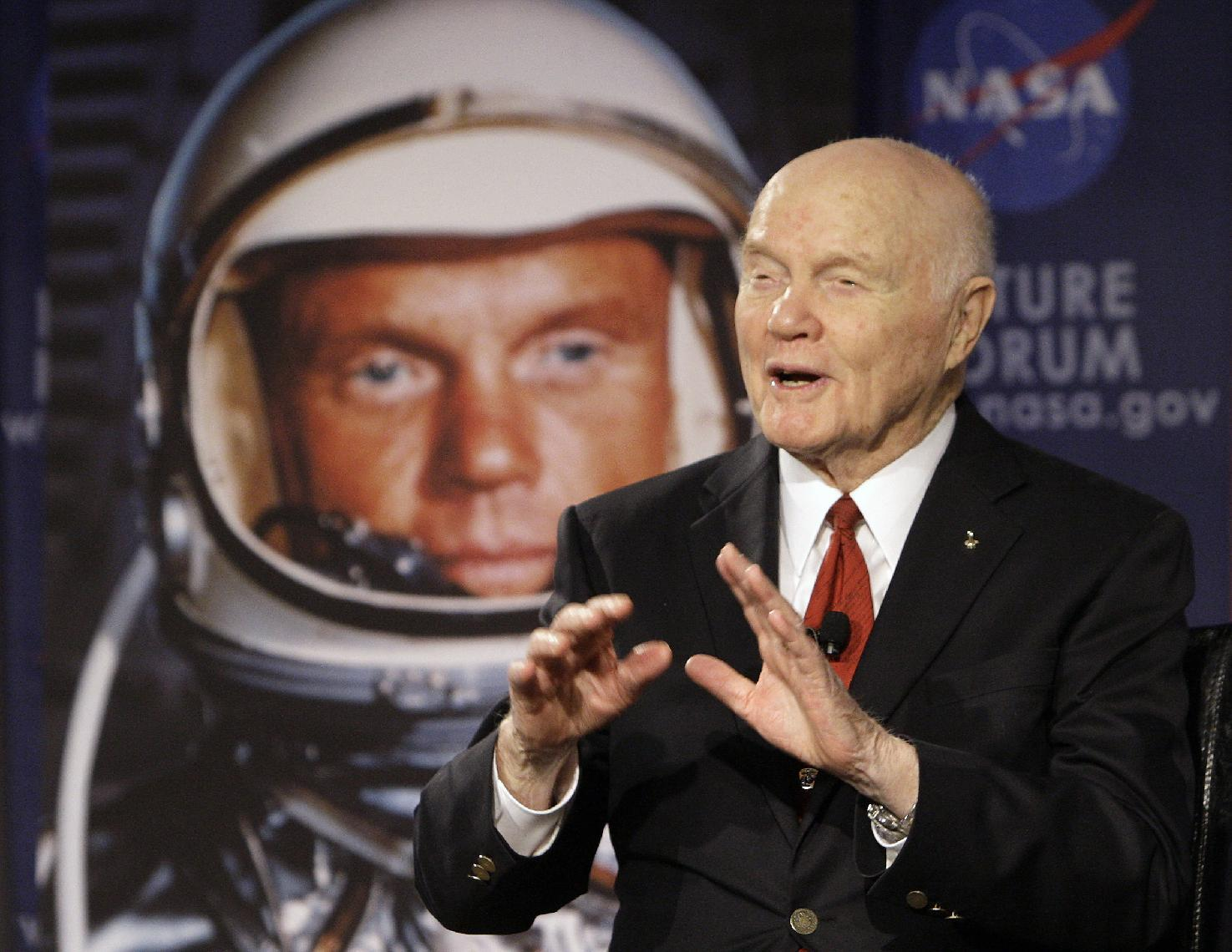 John Glenn, the 1st American to orbit Earth, has died at 95