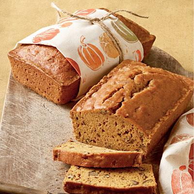 8. Pecan-Pumpkin Bread