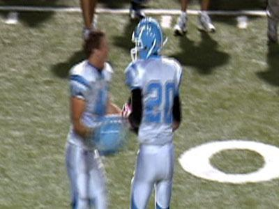 Raw: High School kicker makes 67-yard field goal