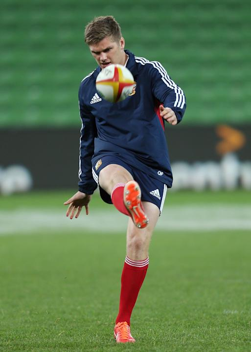 Rugby Union - 2013 British and Irish Lions Tour - British and Irish Lions Training Session - AAMI Stadium - Melbourne