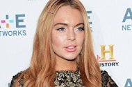 Lindsay Lohan. Getty Images