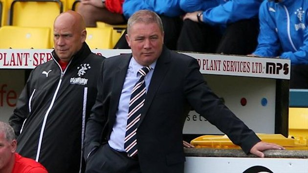 Ally McCoist hope to get answers from the SFA over the differing sanctions