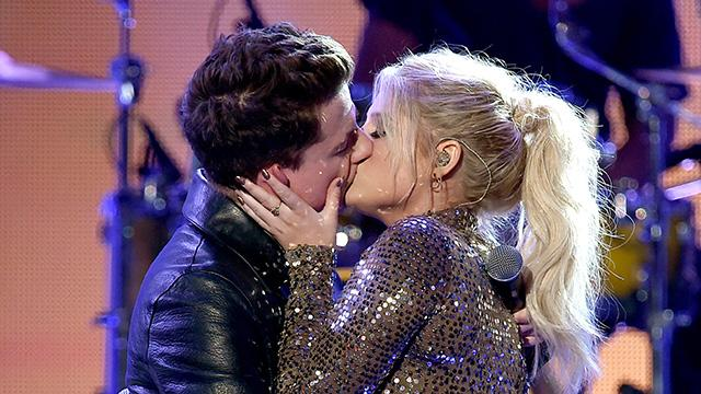 Meghan Trainor and Charlie Puth Were Just as Shocked as We Were by Their AMAs Makeout