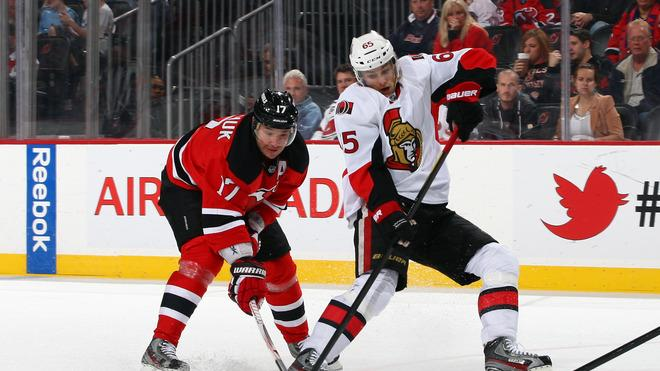 Erik Karlsson #65 Of The Ottawa Senators Attempts Getty Images