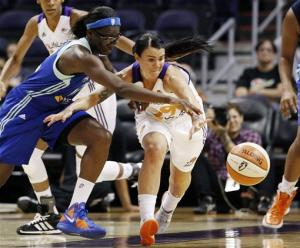Pondexter scores 31 to lead Liberty past Mercury