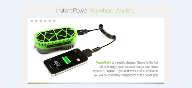1. Water-powered phone charger. …