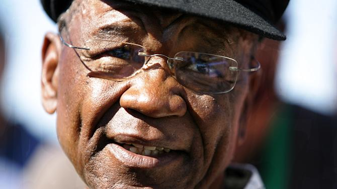 This photo taken on February 17, 2007, in Maseru, shows Lesotho's Prime Minister Tom Thabane