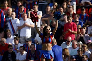 Crystal Palace cheerleader, Dan Istitene/Getty Images