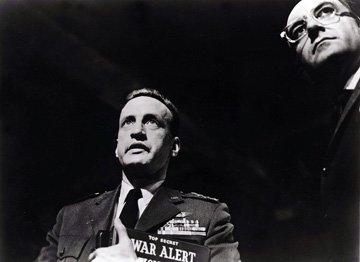 George C. Scott and Peter Sellers in Dr. Strangelove