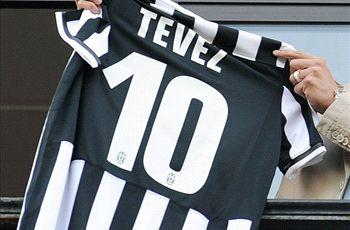 Mancini: Tevez deserves No.10 shirt