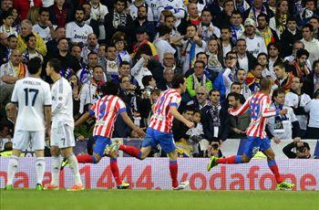 Real Madrid 1-2 Atletico Madrid (AET): Rojiblancos ride luck to end derby drought in Copa cracker