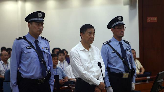 Disgraced Chinese politician mounts feisty defense