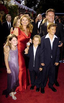 Roma Downey, Mark Burnett and family 56th Annual Emmy Awards - 9/19/2004
