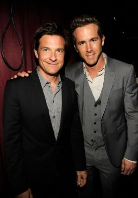 Jason Bateman and Ryan Reynolds attend The 2011 ESPY Awards at Nokia Theatre L.A. Live, Los Angeles, on July 13, 2011 -- Getty Images