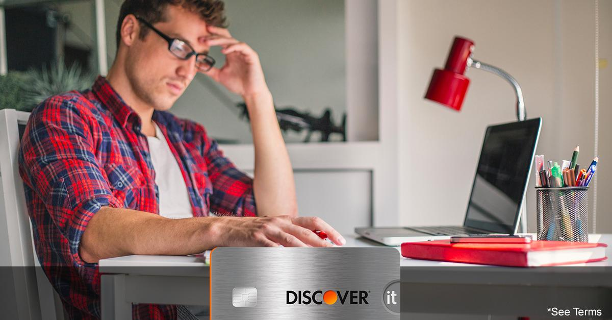 Discover® Is Serious About College Card Benefits