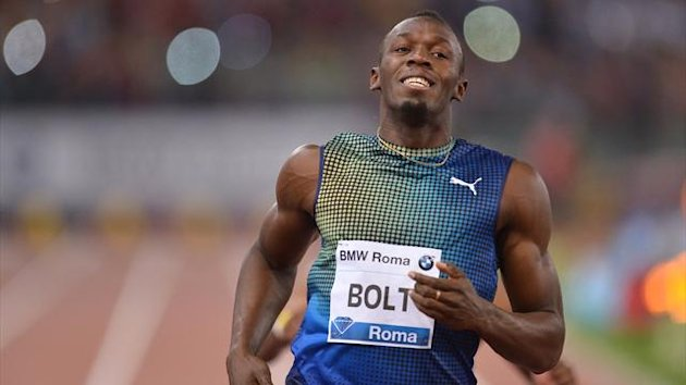 Usain Bolt - Golden Gala Roma 2013 (AFP)