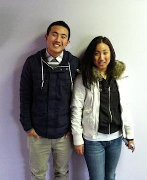 This is an undated family photo provided by Daniel Sim showing himself with his sister Lydia Sim. Lydia, a 21-year-old student, was among the seven killed at the shooting at Oikos University April 2, 2012. Sim, of Hayward,was studying to be a  nurse. (AP Photo/Daniel Sim)
