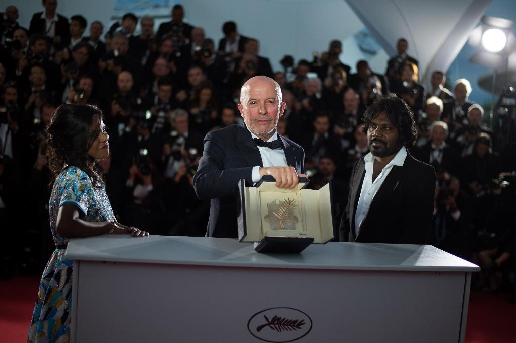 Cannes winner puts refugee issue up on the screen