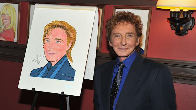Barry Manilow Caricature Unveiling At Sardi's