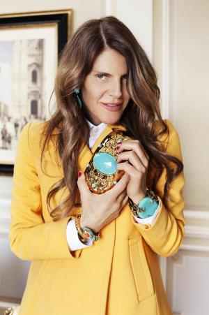Anna Dello Russo has designed an accessories line for H&M.