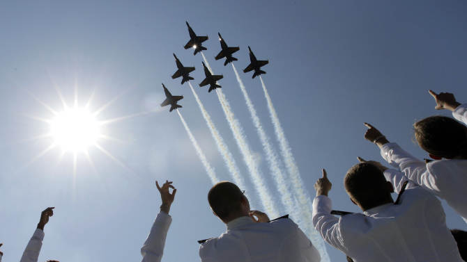 Federal budget cuts ground Air Force aircraft