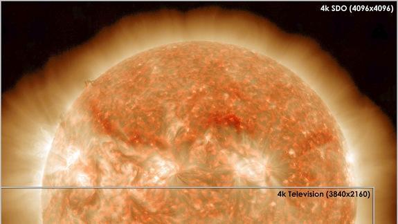 Amazing NASA Sun Photos Outshine Ultra HDTVs