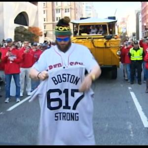 Red Sox victory parade honors Boston bombing victims
