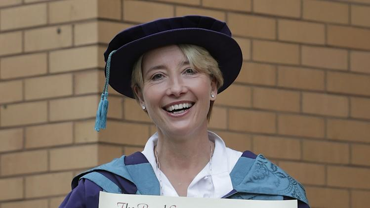 Emma Thompson honorary degree