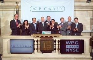 W. P. Carey Rings the NYSE Closing Bell(R)
