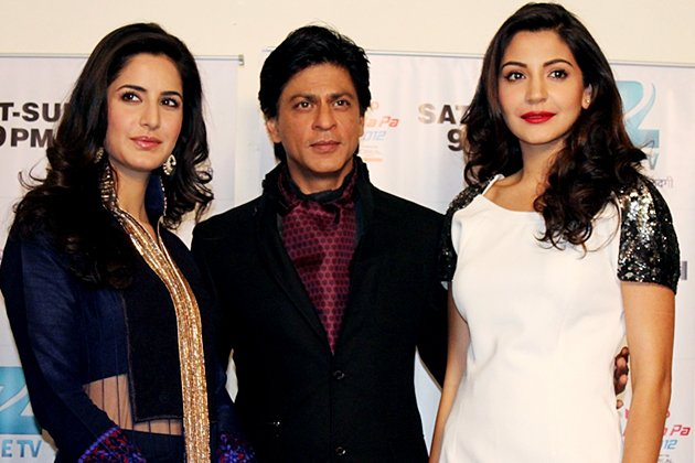 Shah Rukh and his beautiful ladies