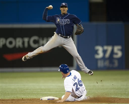 Johnson, Jennings homer as Rays beat Blue Jays