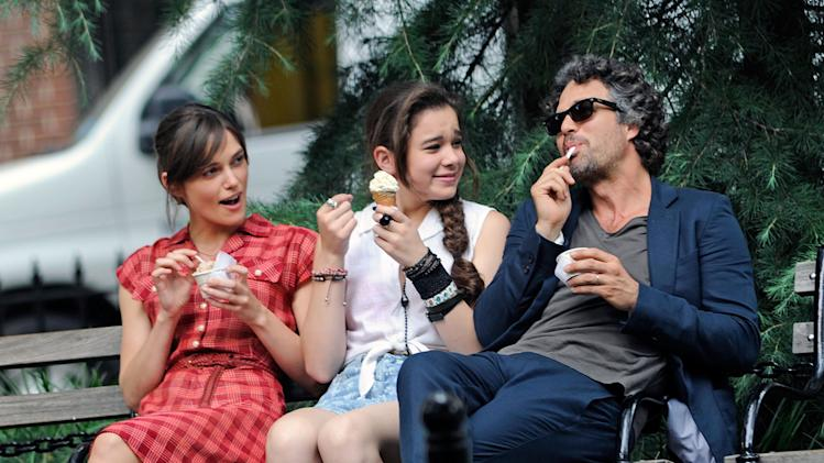 Spotted on Set Kiera Knightley Mark Ruffalo