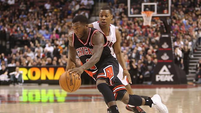 NBA: Chicago Bulls at Toronto Raptors