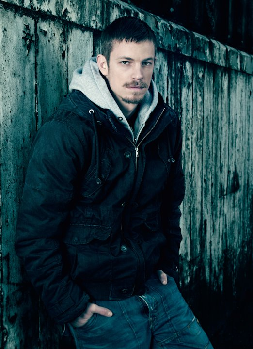 "Joel Kinnaman as Stephen Holder in ""The Killing."""