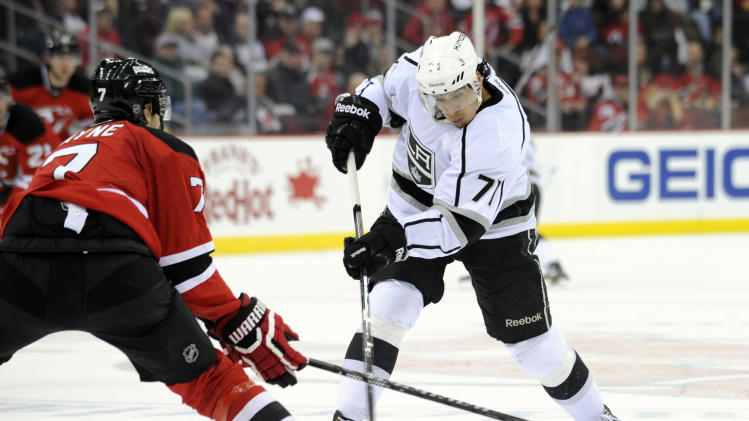 Kings shut out Devils 2-0