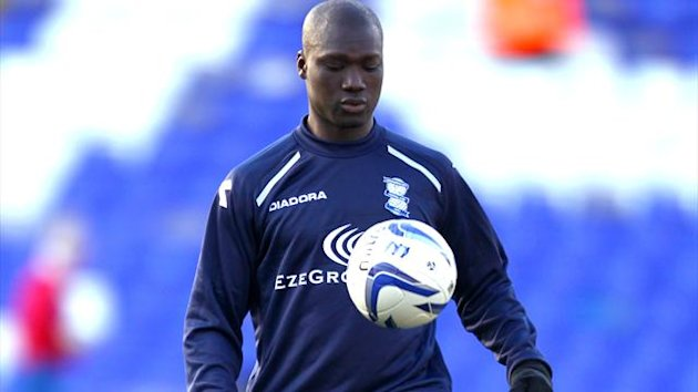 Papa Bouba Diop has been an unused substitute for Birmingham&#39;s last six games