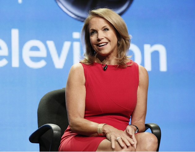 Katie Couric attends the Disney …